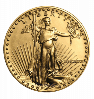 1 oz Gold Eagle coin obverse